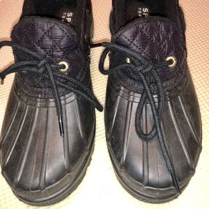 Sperry Top-Sider Waterproof Rain Shoes, Size 6.5